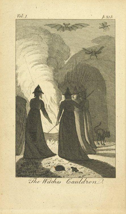 Bildresultat för witches around a cauldron
