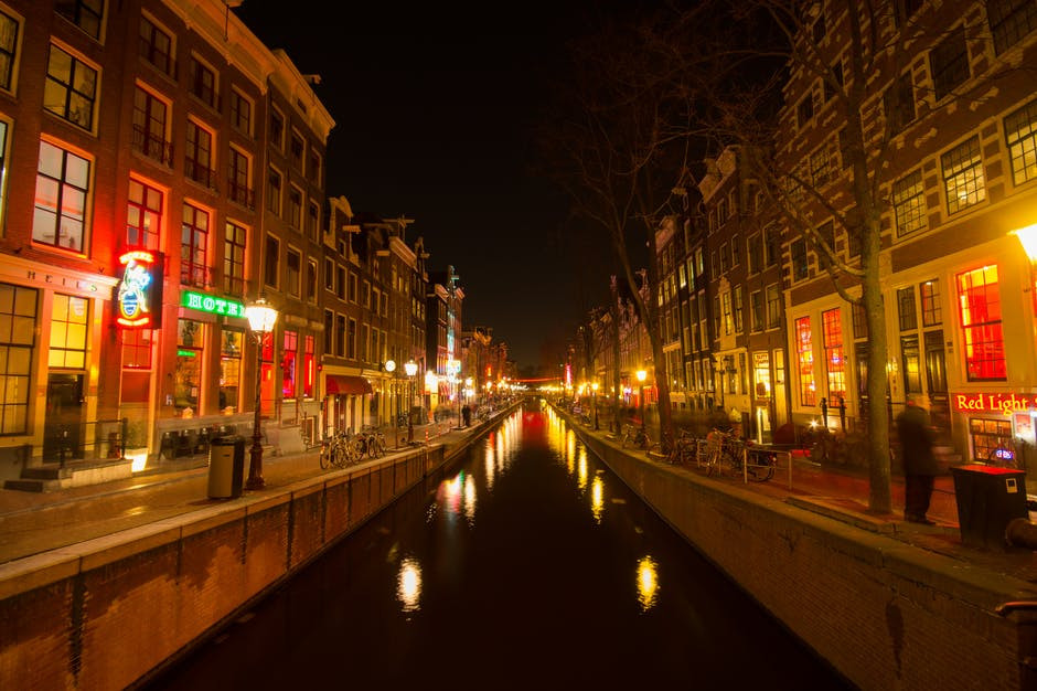 Red Light District , Amsterdam