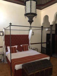 "Bedroom ""fabulously Ottoman"" at Alp Pasa hotel"