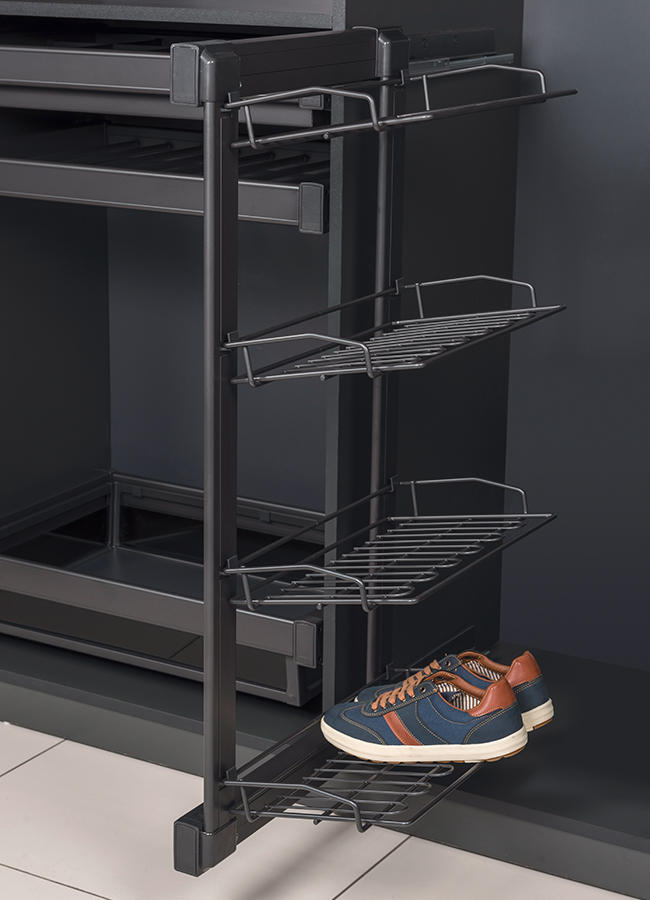 Starax 4 Raflı Ayakkabılık