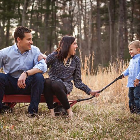 Hendersonville Child Photographer - The Morris Family