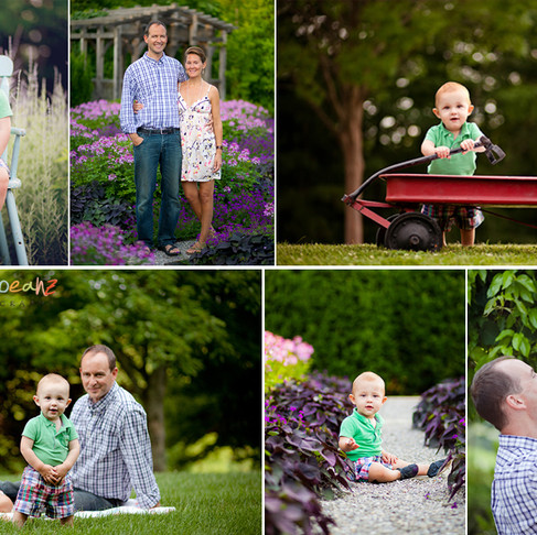Family Photography at the Arboretum