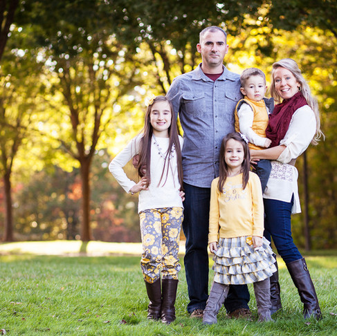 The Bishop Family – Asheville Family Photography