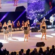 Taneční vystoupení finalistek