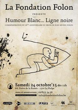Flyer Humour Blanc BD-1