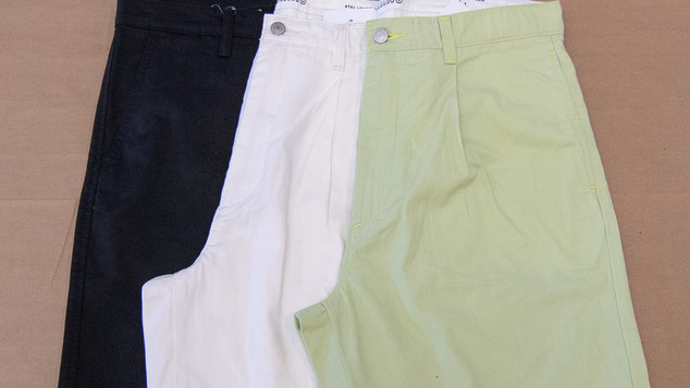 MB_XX CHINO PLEATED SHORT - TIER 2 CHILL TECH