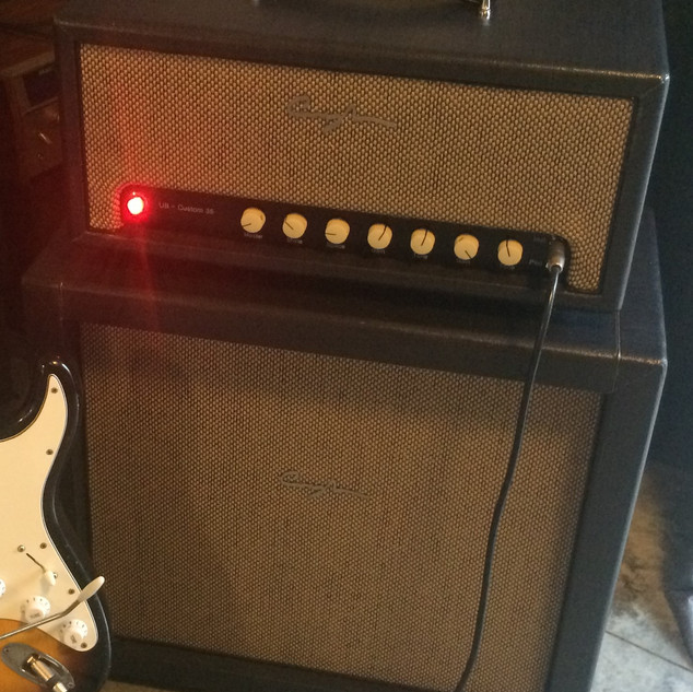 Cunningham Custom 35 Head and Cab