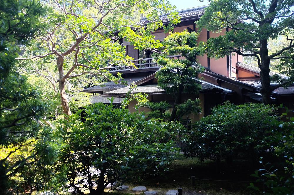 Ancient tea house Imperial Palace Kyoto by Shibumi New Zealand