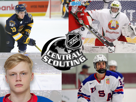 4 Erie Otters on NHL's Central Scouting Final Rankings List for the 2021 Draft