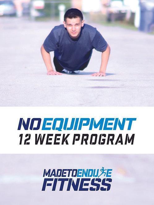 No Equipment Fitness Plan