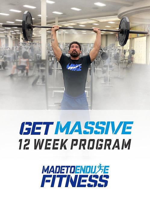 Get Massive Fitness Plan