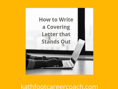 How to Write a Cover Letter that Stands Out