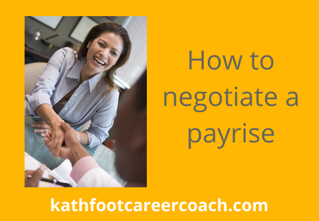 How to Negotiate a Payrise