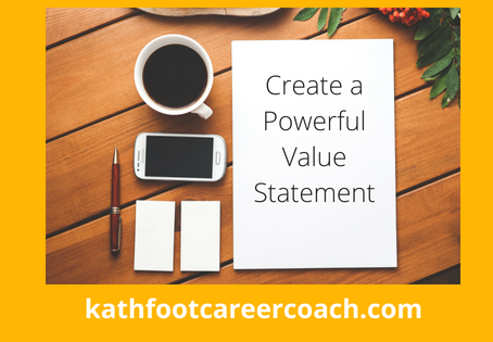 Create a Powerful Value Statement