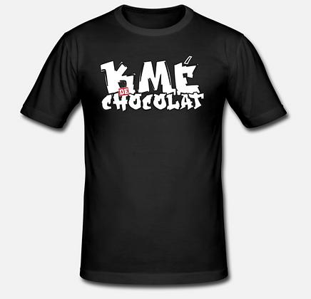 T-Shirt KME de Chocolat Graffiti