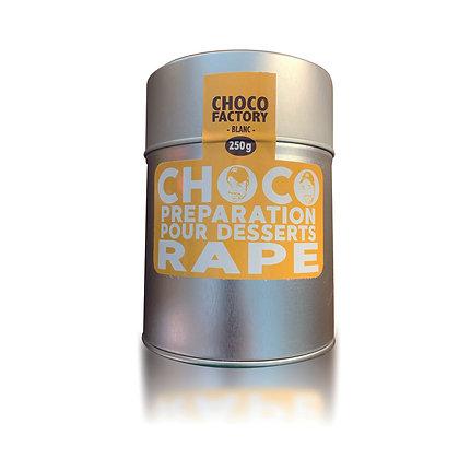 Chocolat Râpé Blanc