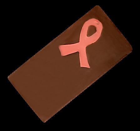 Tablette Octobre Rose Chocolat Noir