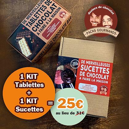 Pack Kit Tablettes + Kit Sucettes