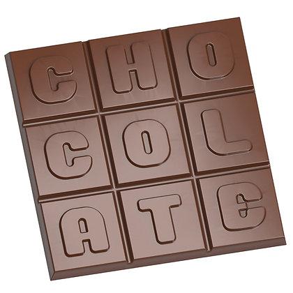 Moule Tablette carré CHOCOLATE
