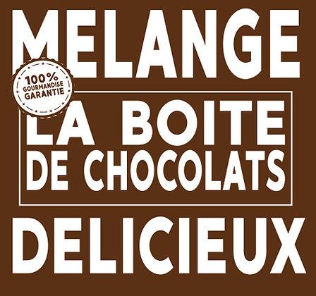 Boîte Gourmande de Chocolat