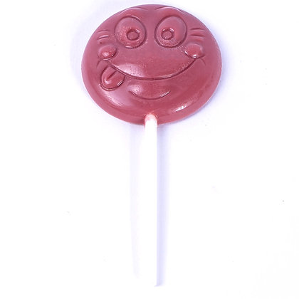 Sucette Smiley Choco Ruby