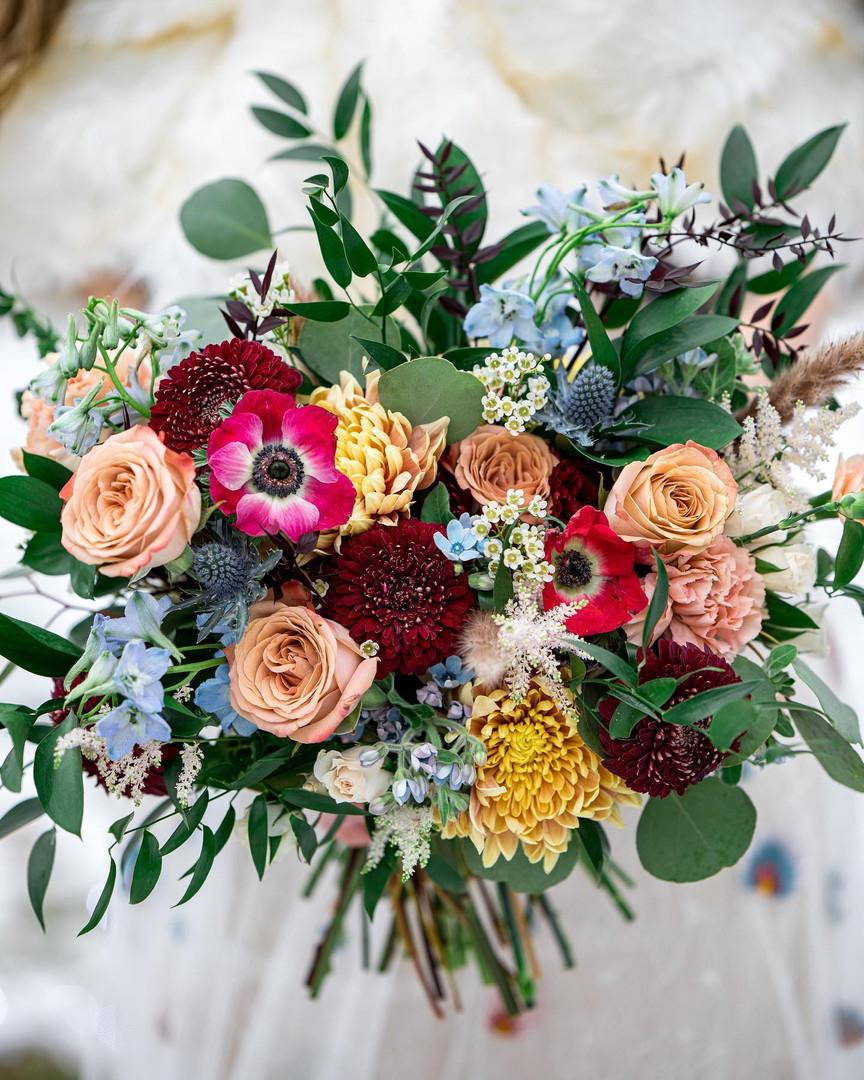 Vermont Bridal Bouquet