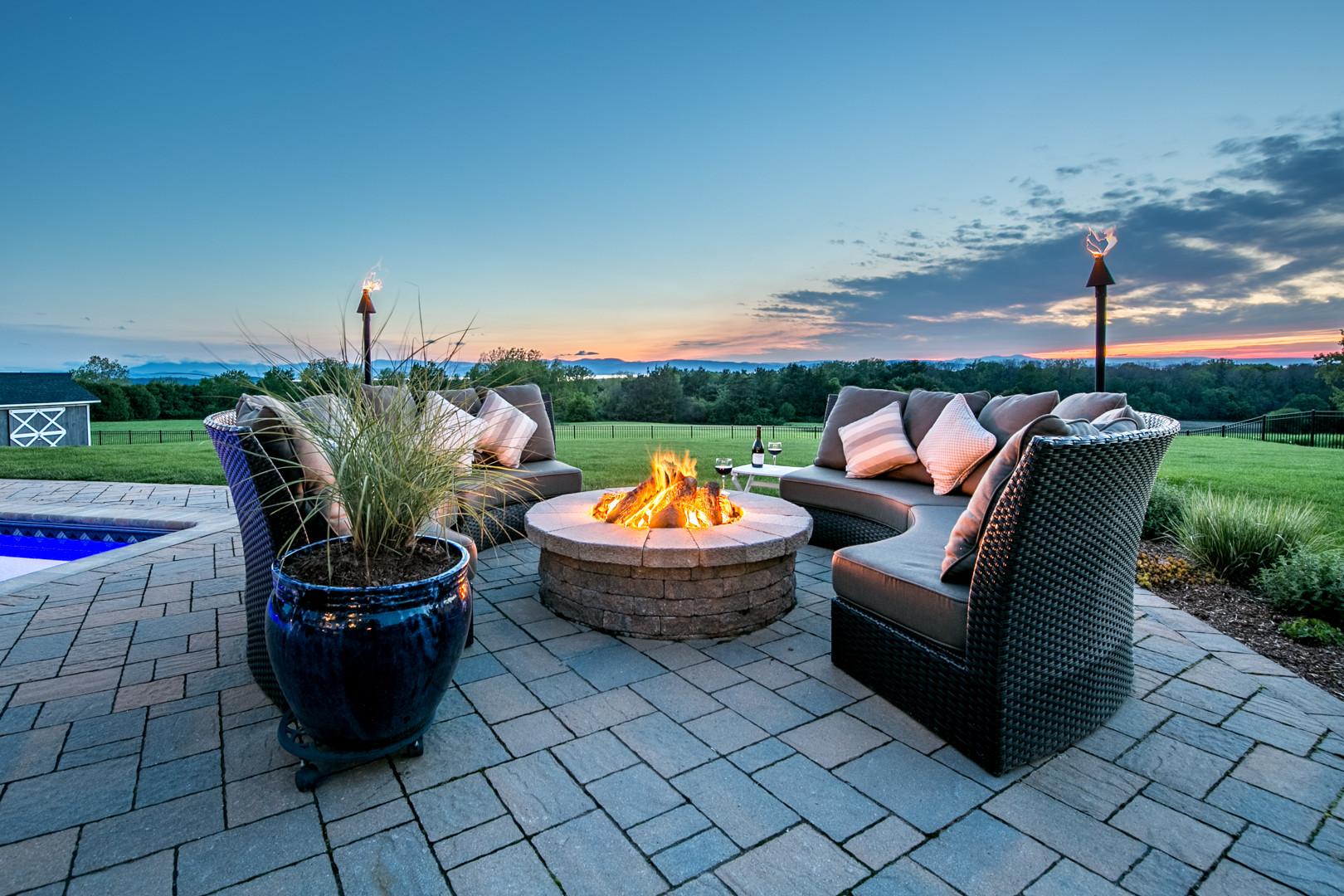 Twilight Luxury Vermont Real Estate Photography