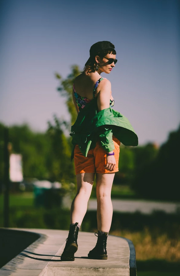 Model Portrait Skate Park Burlington Ver