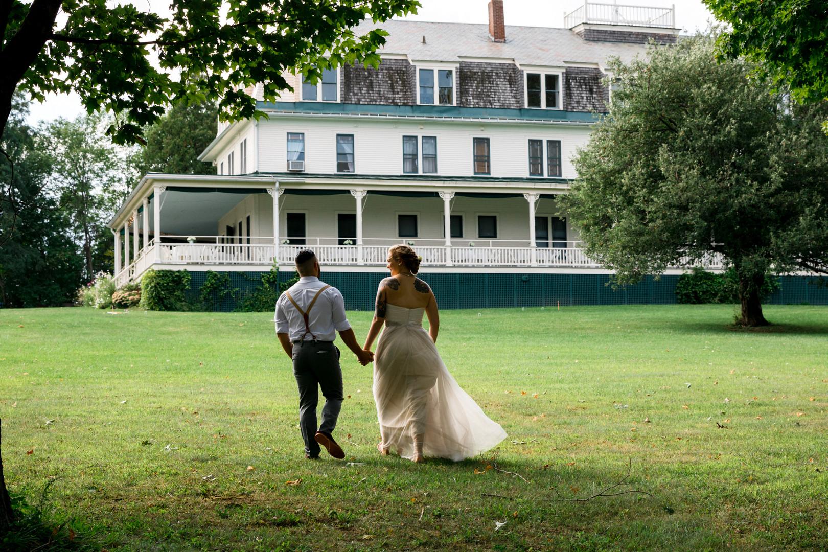 Vermont Bride and Groom Grande Isle Lake House