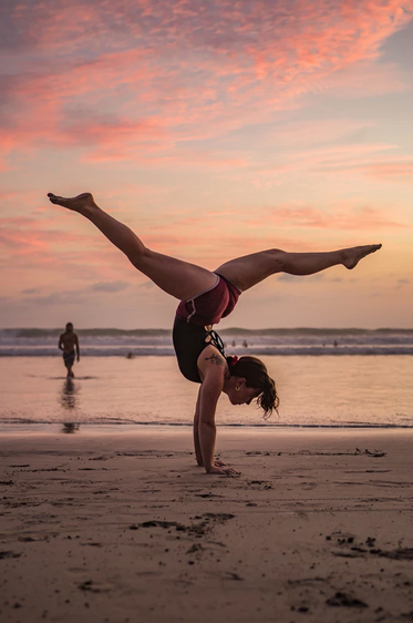 Yoga Handstand Sunset Costa Rica.png