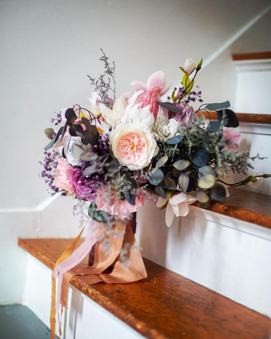 Bridal Bouquet Paper Flowers