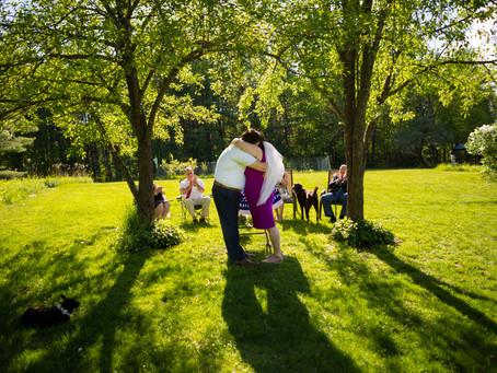 Rachel & Eric's Backyard
