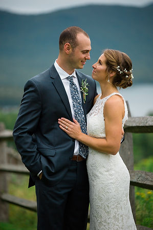 Bride and Groom Mountain Top Inn Vermont Weddings
