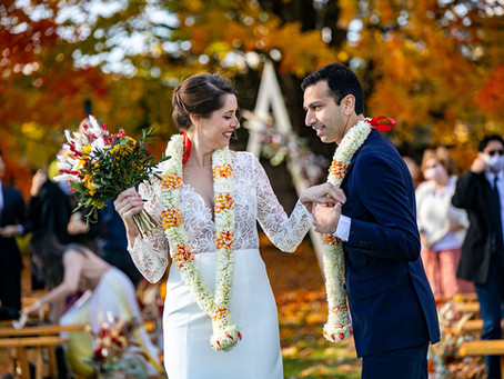 Zahra & Kunal's Autumn Wedding