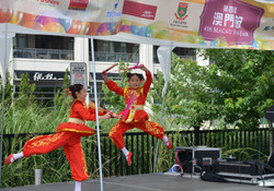 中國舞表演