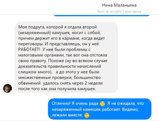 Пишет Нина Маланьина