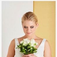 Bridal makeup for Mariks Brose Lookbook
