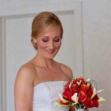 Bridal makeup done by Maureen (Moe) Sherwood
