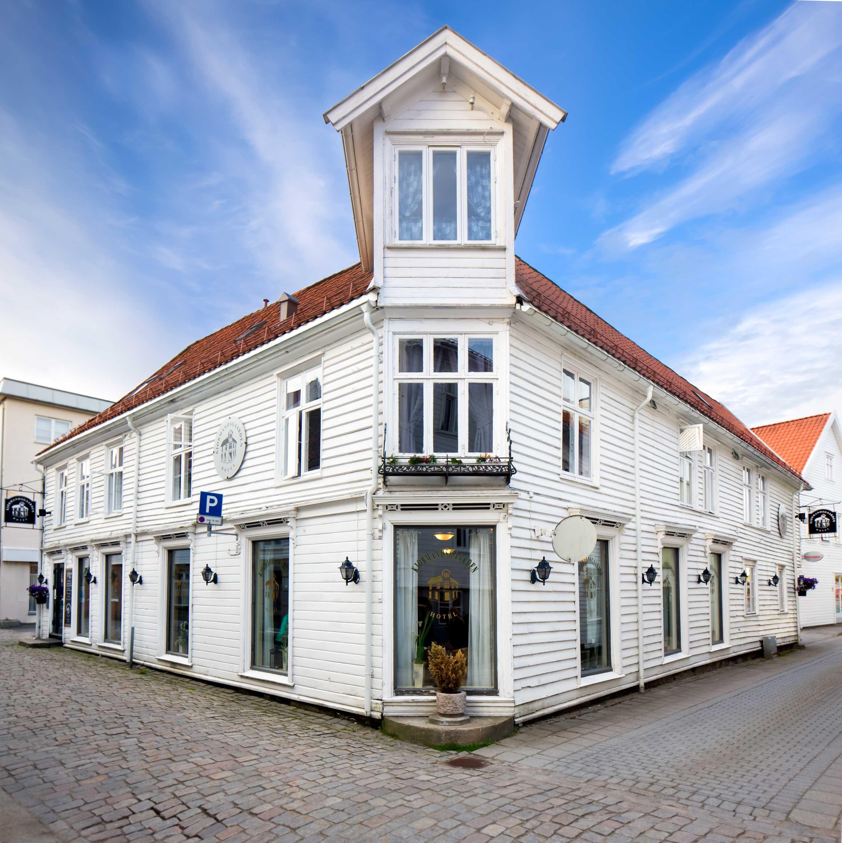 Kjøbmannsgaarden-hotel fasade
