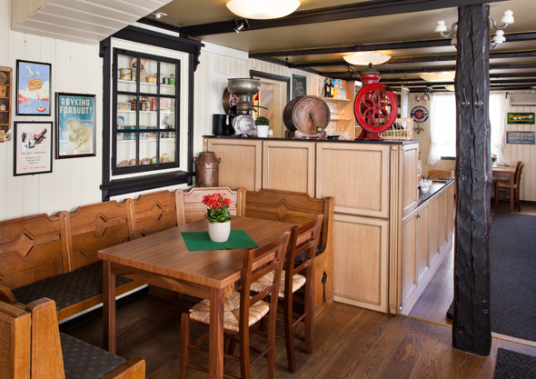 Kjøbmandsgaarden-  hotel  restaurant