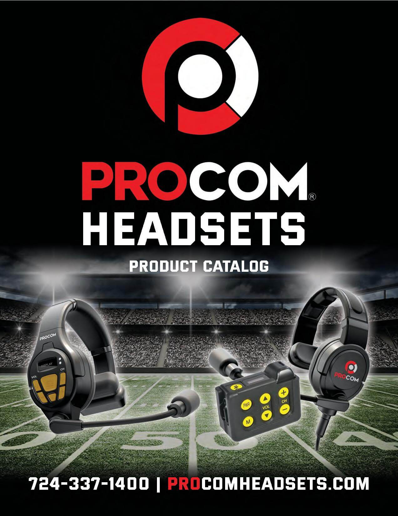 ProCom Products Catalog Cover