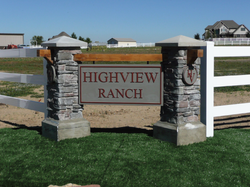 High View Ranch Sign
