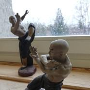 Kung Fu Figuren aus Hong Kong