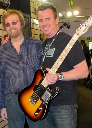 Phil mit Jerry Donahue (Elton John, The Beach Boys, Roy Orbison etc.)