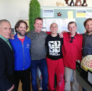 Sektion Kampfsport: Philipp Schleucher, Dominic Wintsch, Phil Holmes, Benj Lee, Markus Trink und Simon Sembinelli. Danke euch für den tollen support! Oss Phil