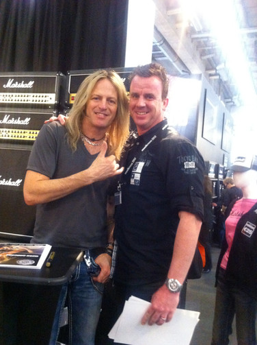 Phil mit Doug Aldrich (Whitesnake)