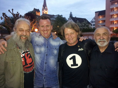 Guitar Workshop Team mit Phil Holmes und Thomas Blug