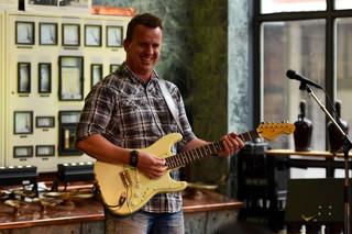 Phil at Guitar Workshop