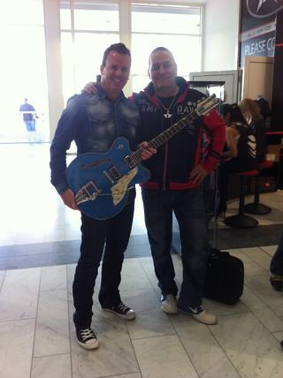 Phil mit Roland Sumi
