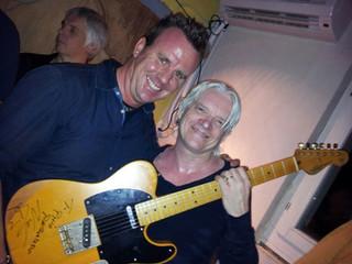 Phil mit Neil Taylor (Robbie Williams, Tears For Fears, Tina Turner, Chris De Burgh etc.)